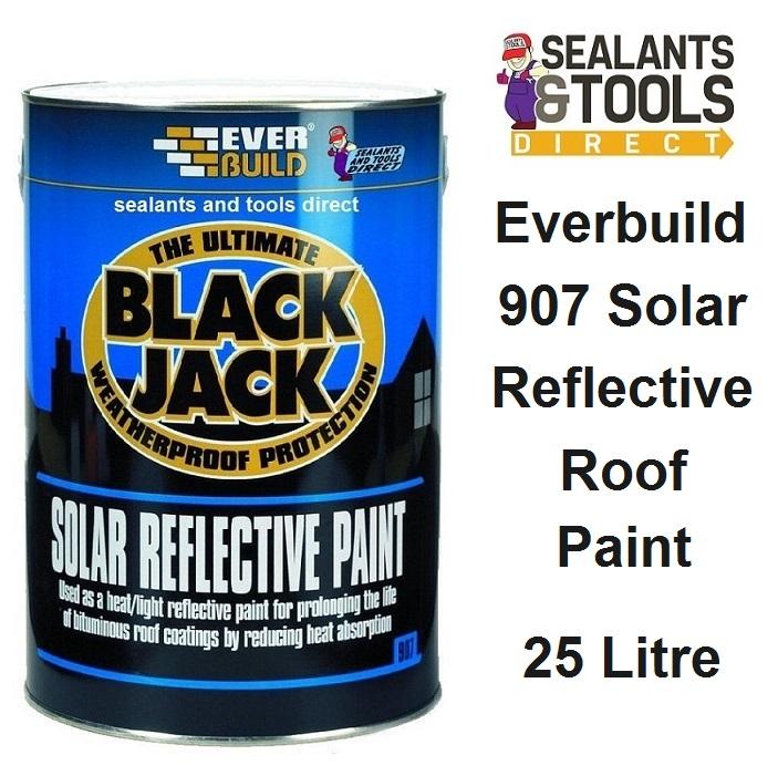 Everbuild Black Jack 907 Solar Reflective Roof Coating