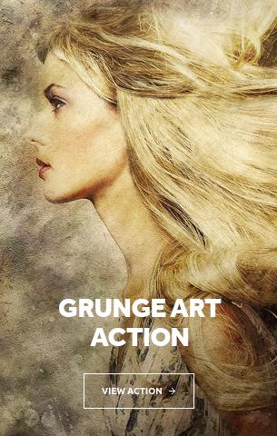Grunge Art Photoshop Action