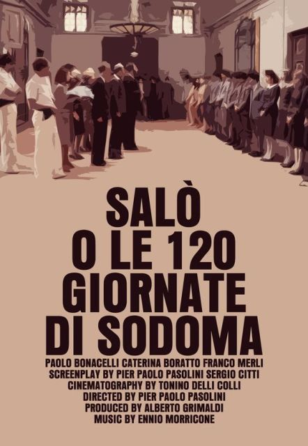 Salò, or the 120 Days of Sodom (1975) BluRay 720p 900MB