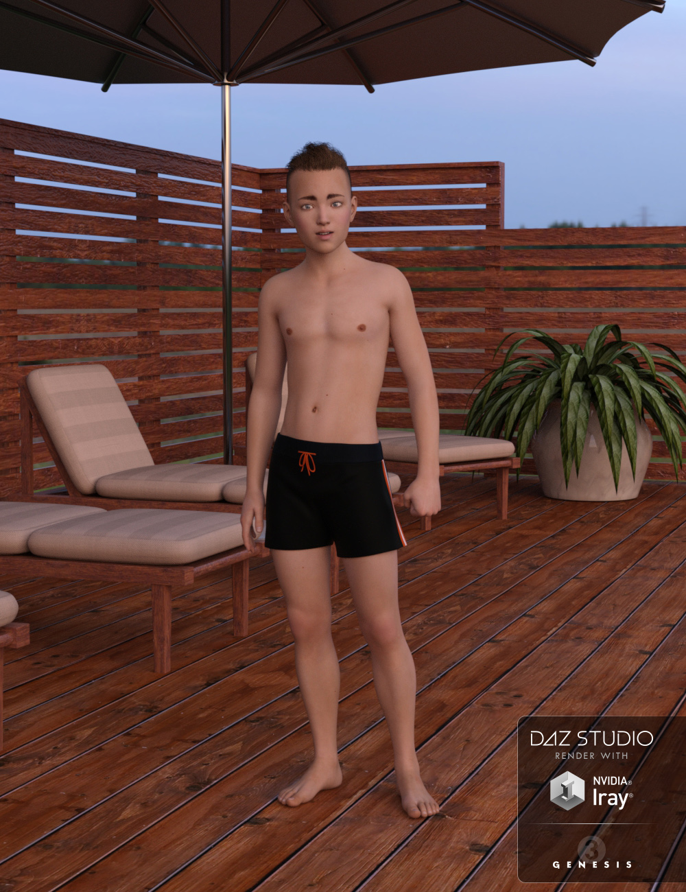 Peter for Genesis 3 Male – Boy Character