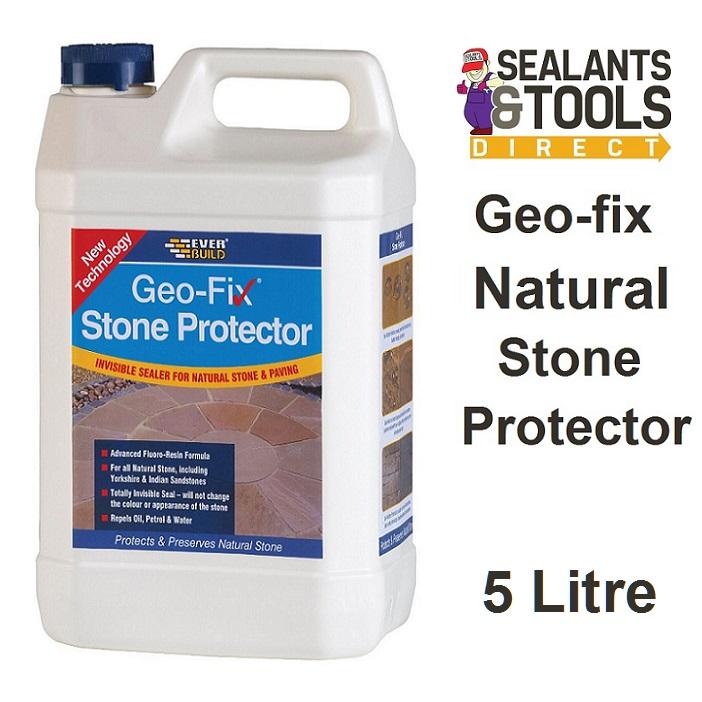 Everbuild Geo-fix Natural Stone Protector 5 Litre GEOSTONE5