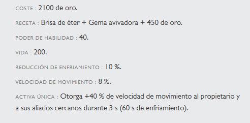 Estadísticas del Ensueño de Shurelya