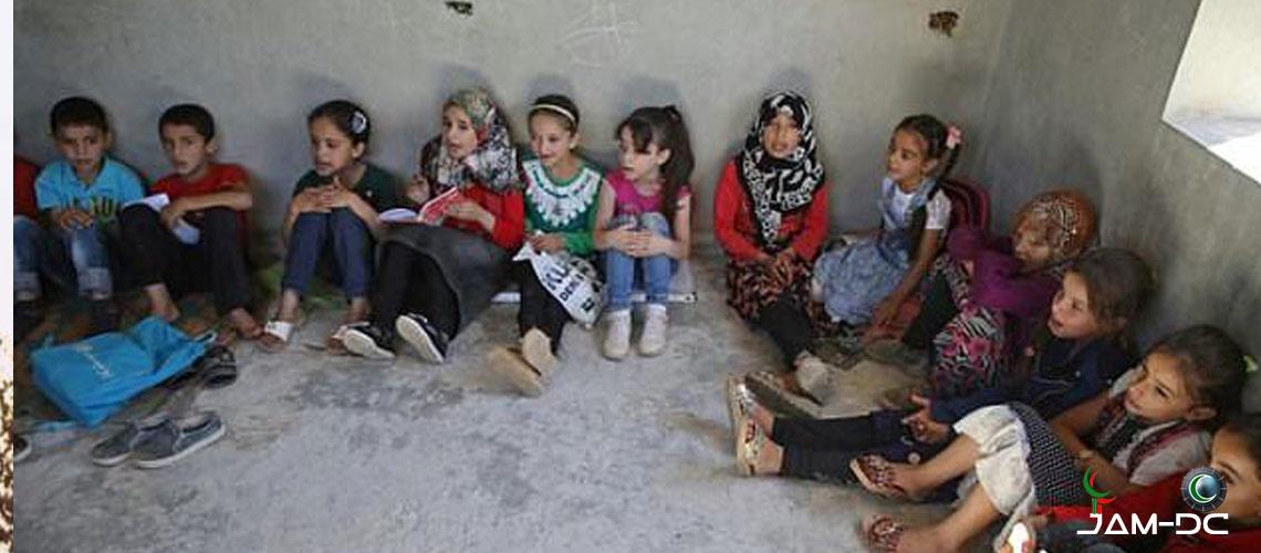 Лишения сирийских детей