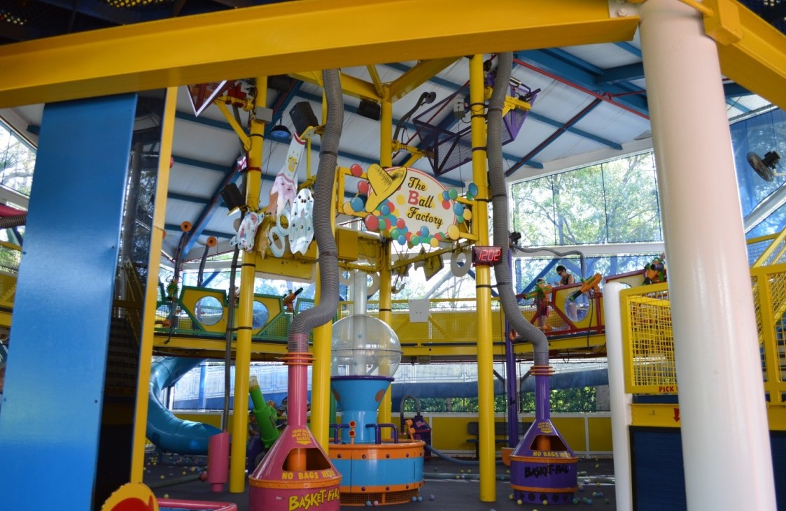 Curious George play area at Universal Orlando Resort