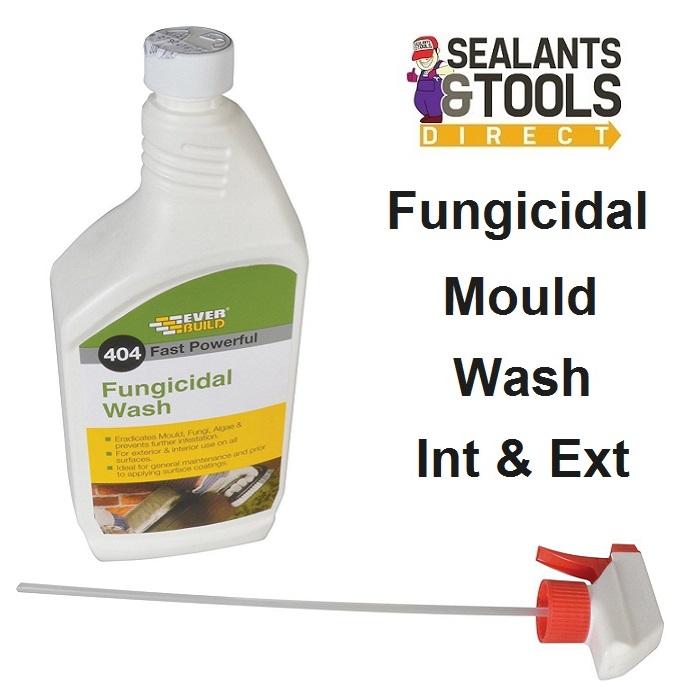 Everbuild 404 Fungicidal Wash Moss Amp Mould Remover 1 Litre