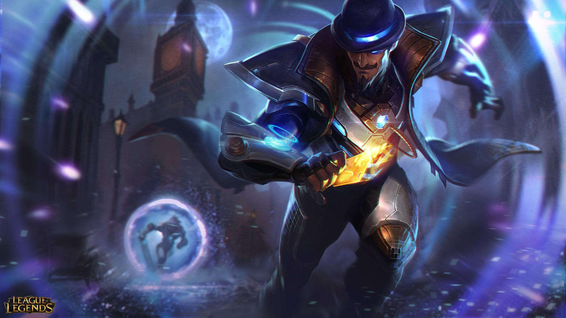 Twisted Fate Pulso de fuego