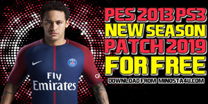 PES-2013-PS3-FREE-PATCH-2019-AIO