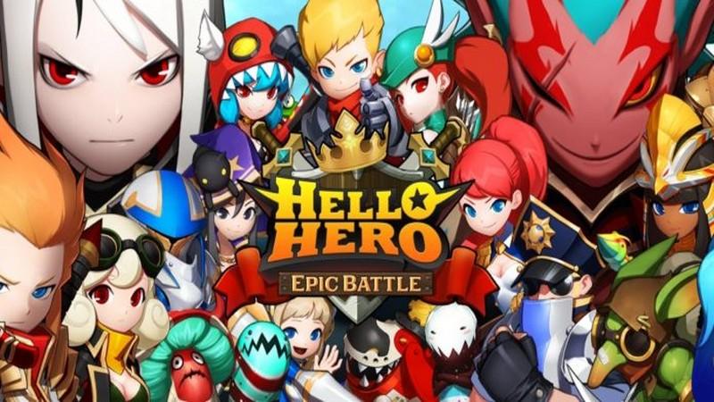 Hello Hero: Epic Battle - Hậu bản Game khủng Mobile lộ diện chiến trường Đông Nam Á