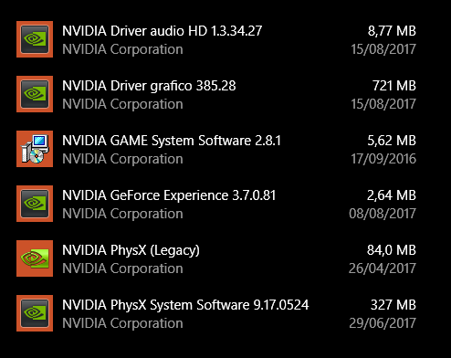 nvidia drivers wont update windows 10