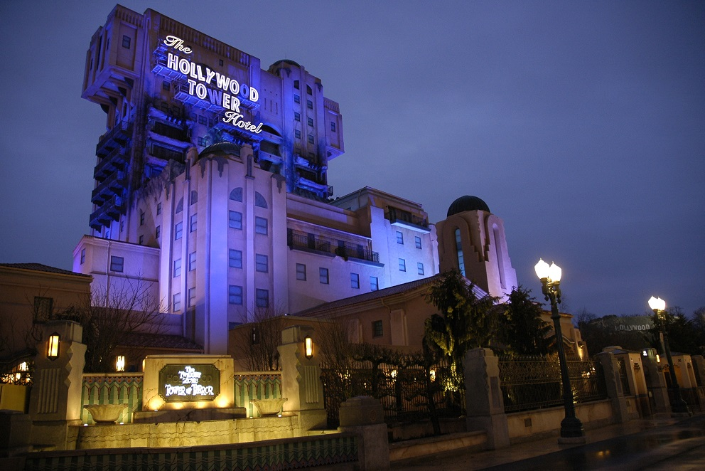 The Twilight Zone Tower of Terror at Disneyland Paris