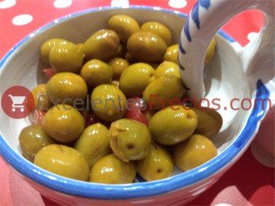 Planta de aceituna, sabor verato, aceitunas verdes machadas, aceitunas verdiales aliñadas