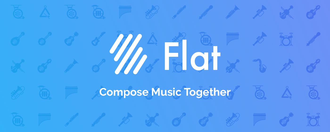 composicion musical con flat