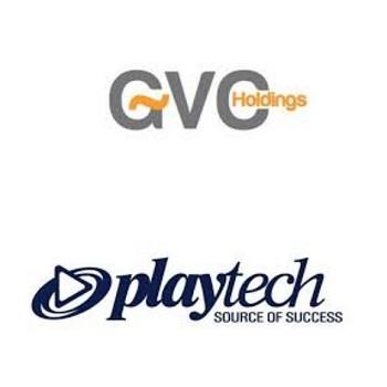 GVC Playtech logos