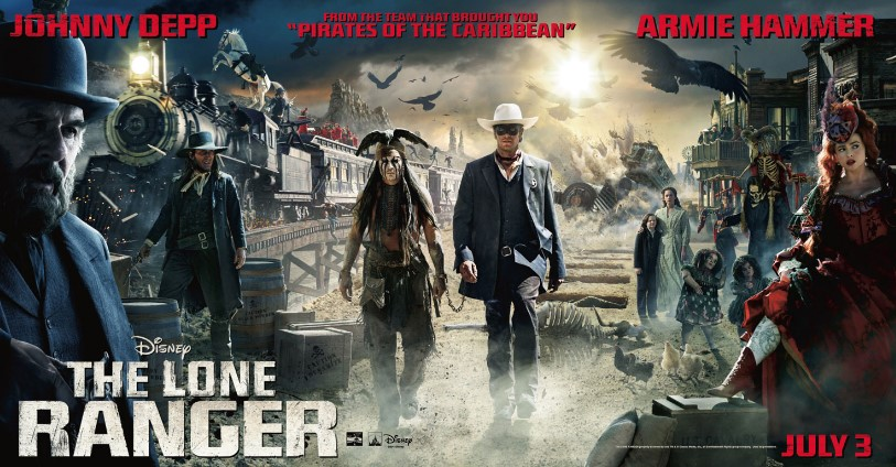 The Lone Ranger (2013) HD