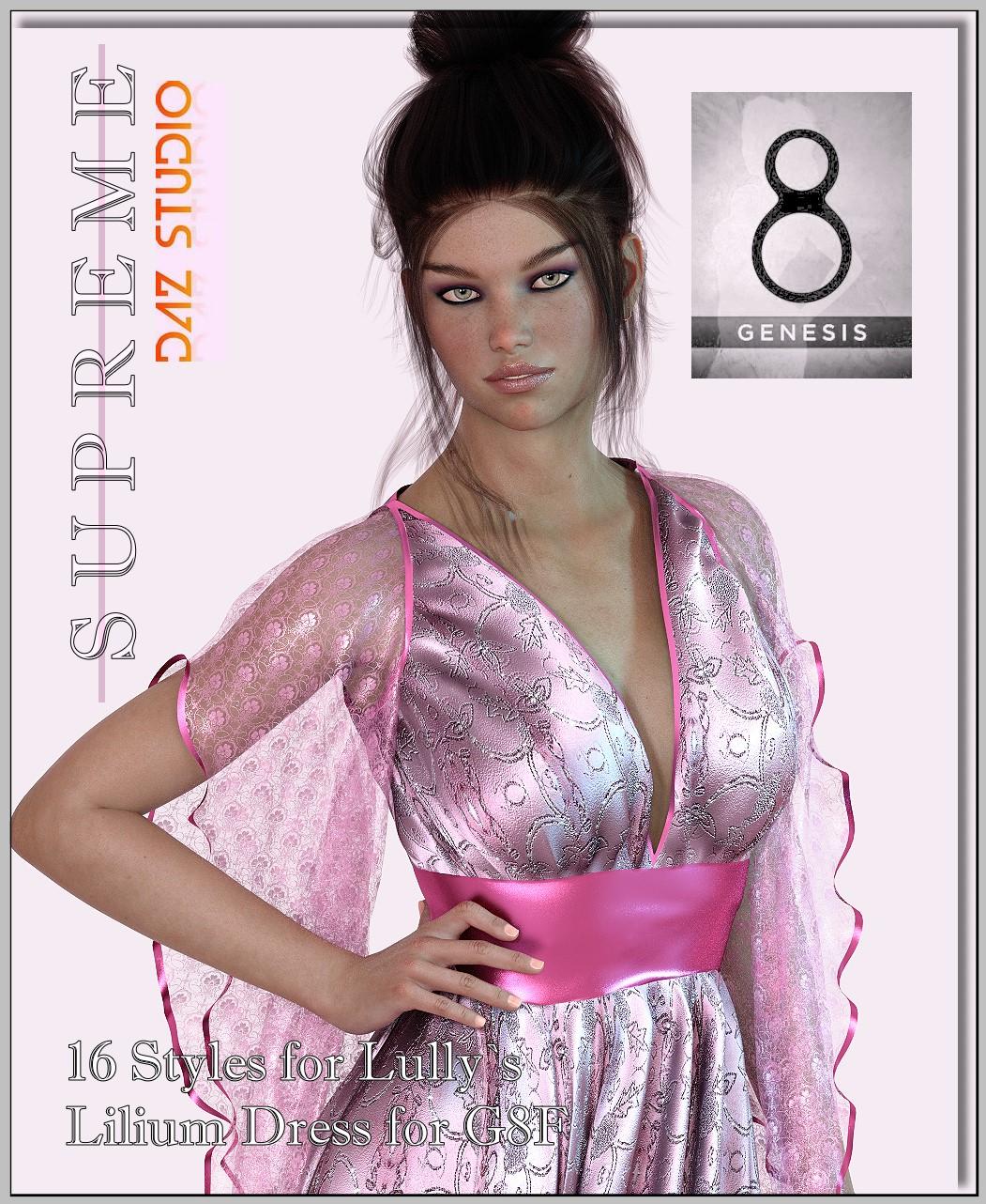 Supreme- Lilium-Dress
