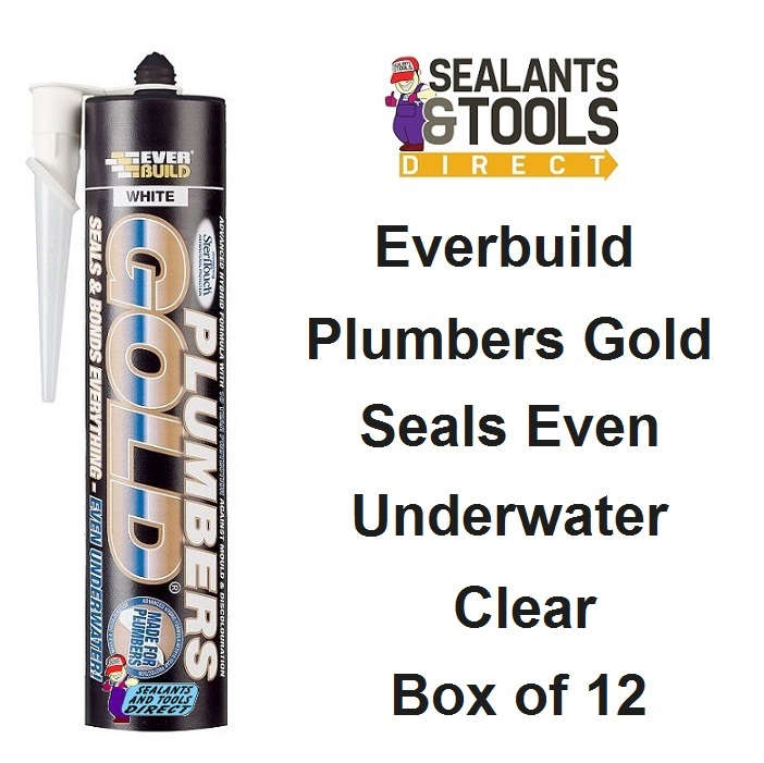 Everbuild Plumber Gold Clear Box of 12