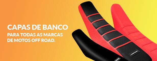 Capas de Banco para todas as marcas de motos off road