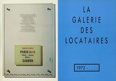 Rafaela Drazic Galeries les locataires Paris