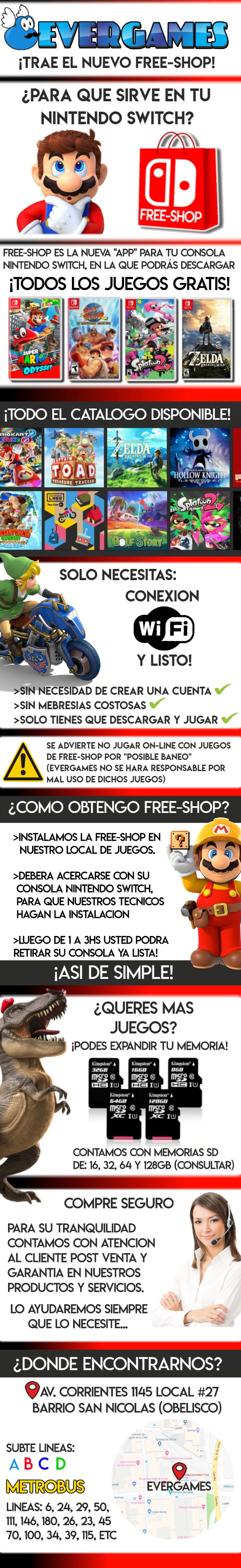 Ever Games Productos Nintendo Switch Juegos Gratis Free Shop