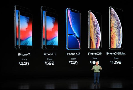iPhone XS, iPhone XS Max, dan iPhone XR Rilis
