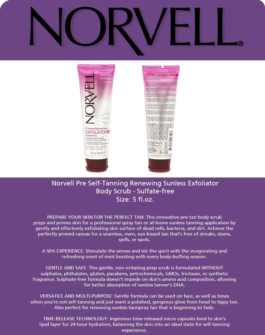 Norvell Renewing Sunless EXFOLIATOR Biotherm - Skin Vivo Reversive Anti-Aging Care Cream - Rich - 50ml/1.69oz