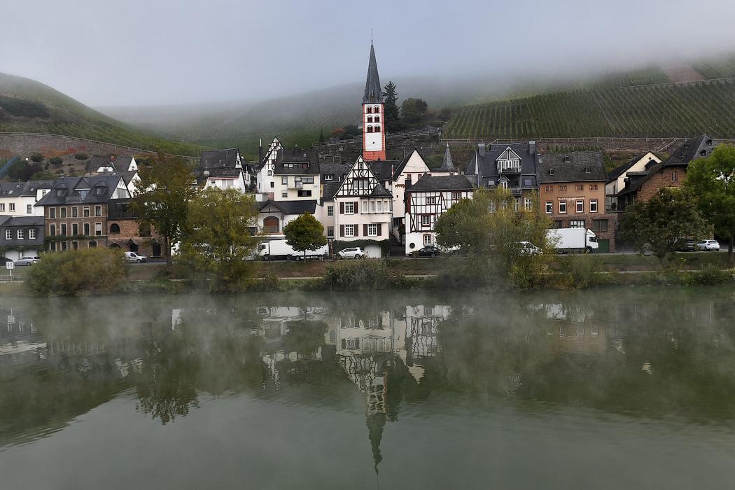 Поплыли туманы над рекой: круиз по Мозелю на 1AVista Reisen ms Bellriva