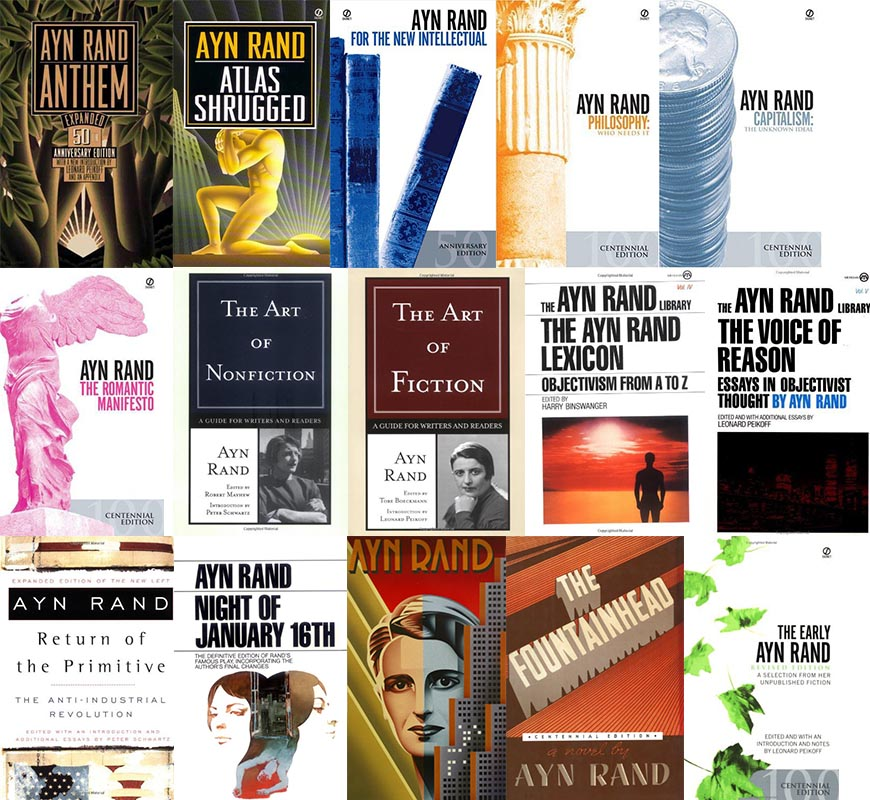 Ayn Rand Collected Works