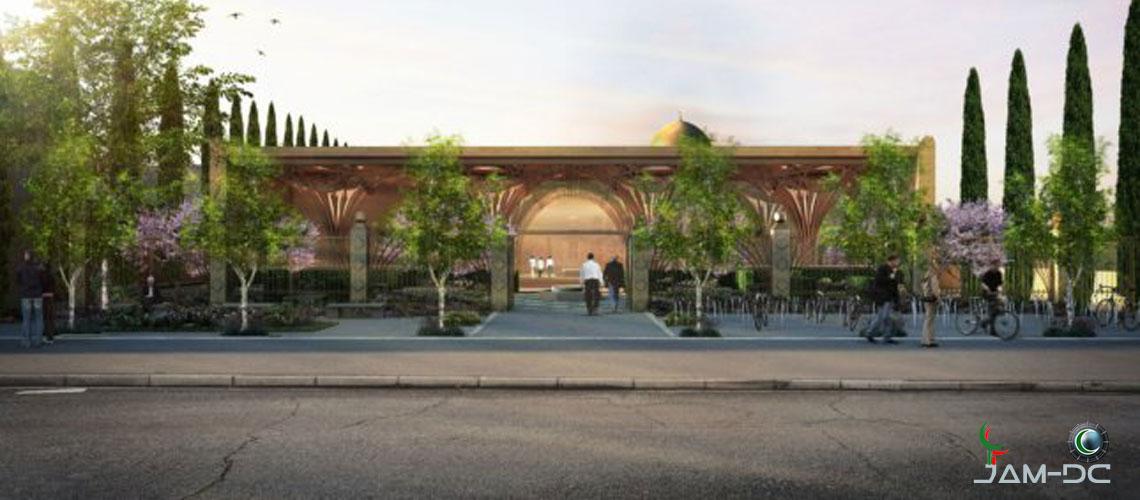 Уникальная структура деревянной Мечети