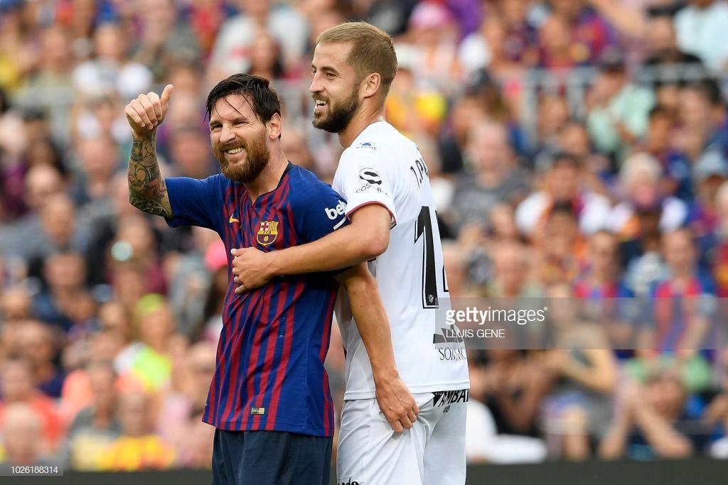 صور مباراة : برشلونة - هويسكا 8-2 ( 02-09-2018 )  Mj