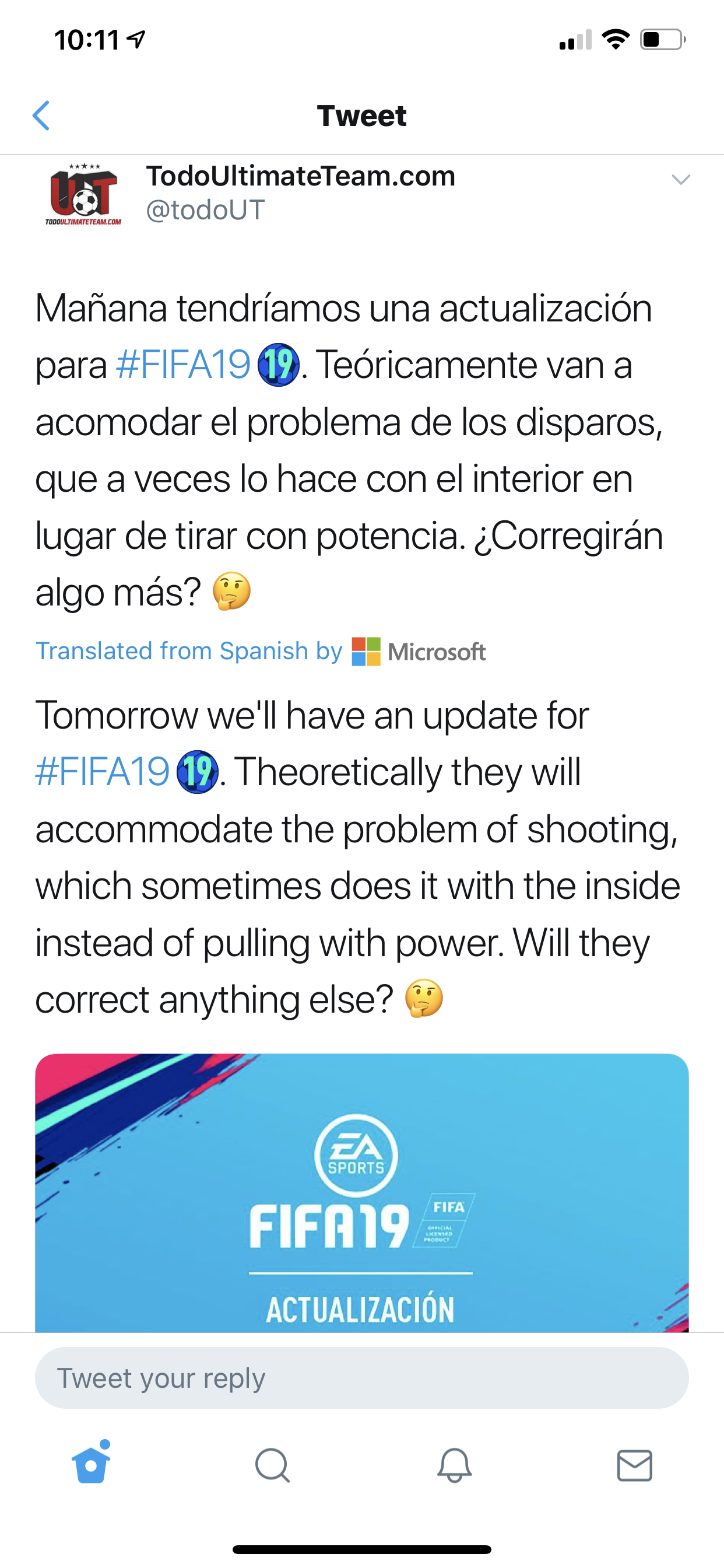 FIFA 19 patch incoming this week?!? — FIFA Forums