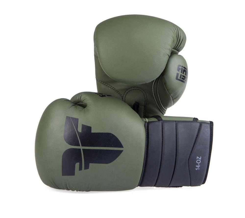 Боксерские Перчатки Fighter khaki/black ( Бренд Чехия ) New
