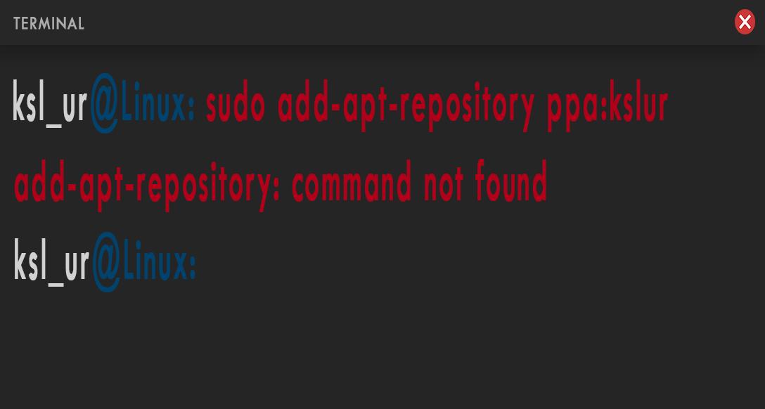 gambar error saat menambahkan ppa