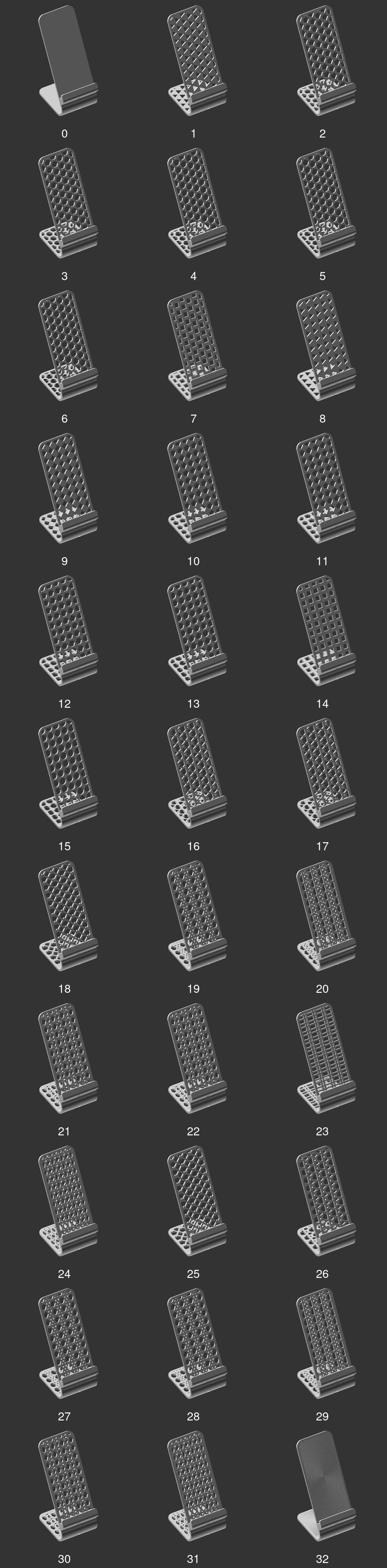 Preset patterns