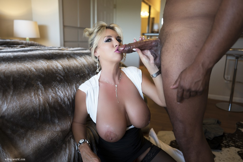Amateur wife and a black guy