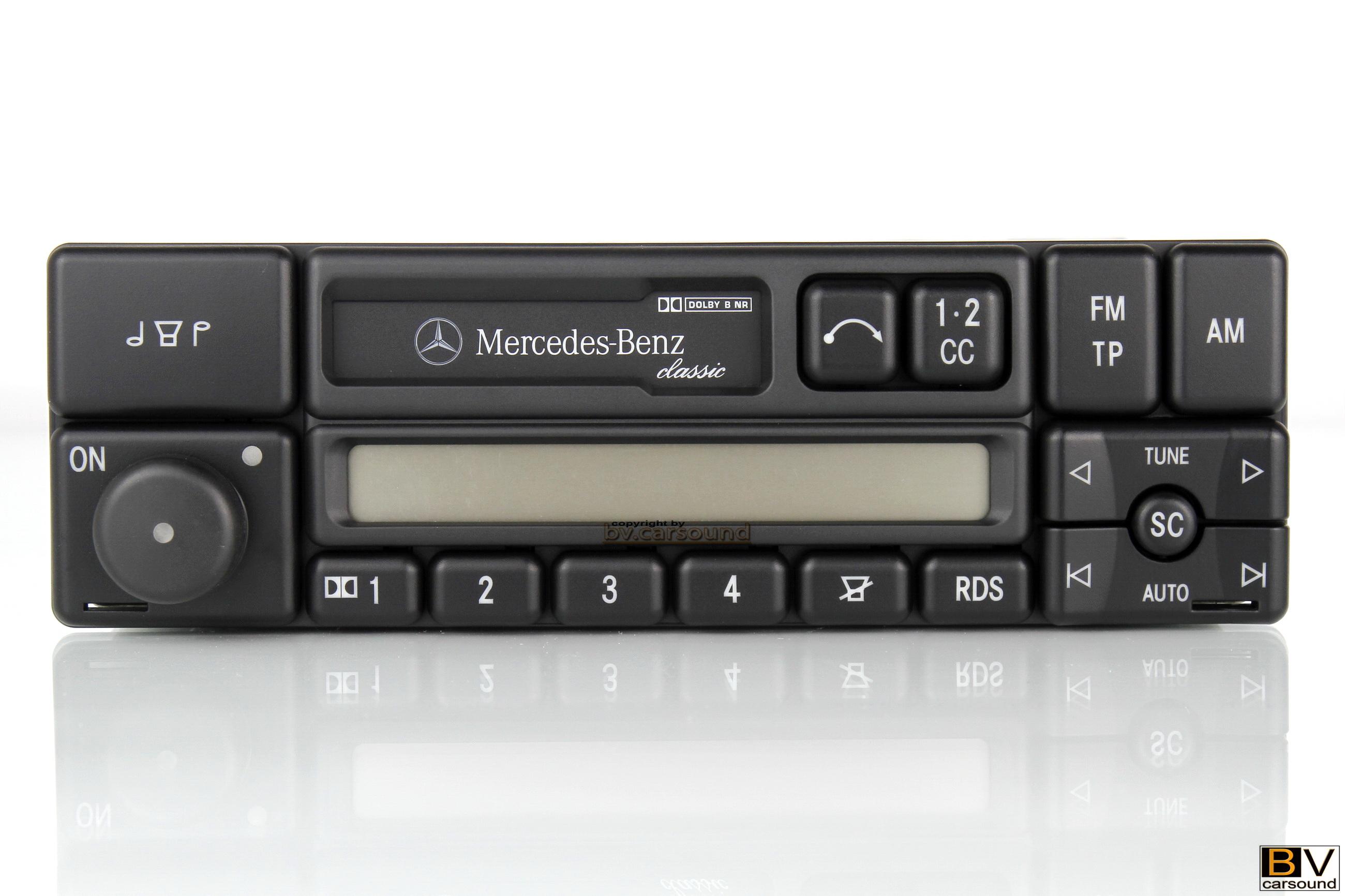 Original Radio Mercedes-Benz classic Becker BE1150 W124 W202 W461 ...