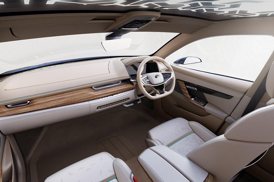 Toyota E-vision interior
