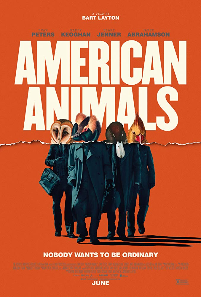 American Animals (2018) 720p WEB-DL 800MB