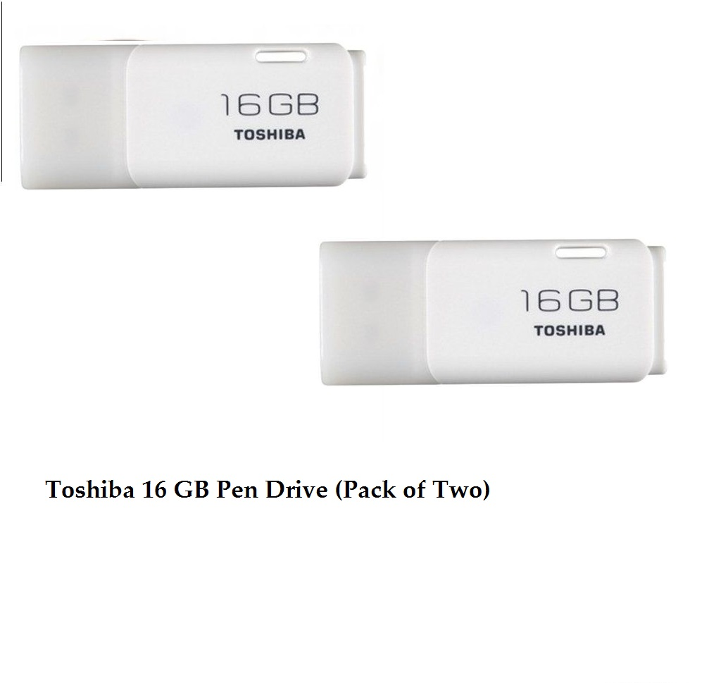 Toshiba 16 GB Pen Drive (Pack of Two)