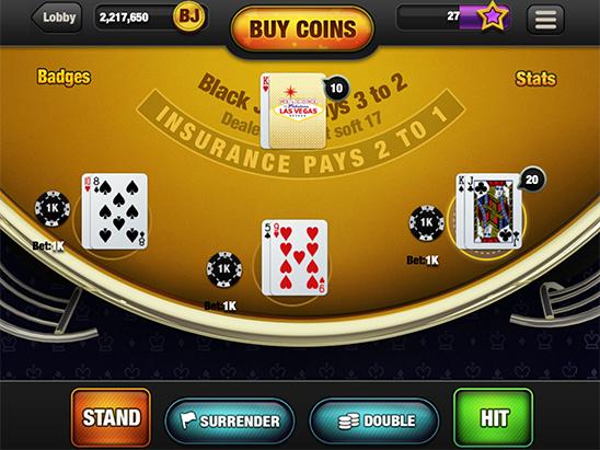 Flash Online Blackjack For US Players