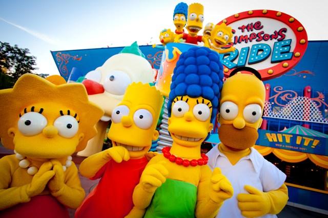 The Simpsons Ride at Universal Orlando Resort