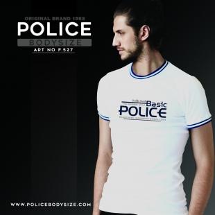 Áo Thun Thái Police, Áo Thun Body Thái Lan Cao Cấp - 3