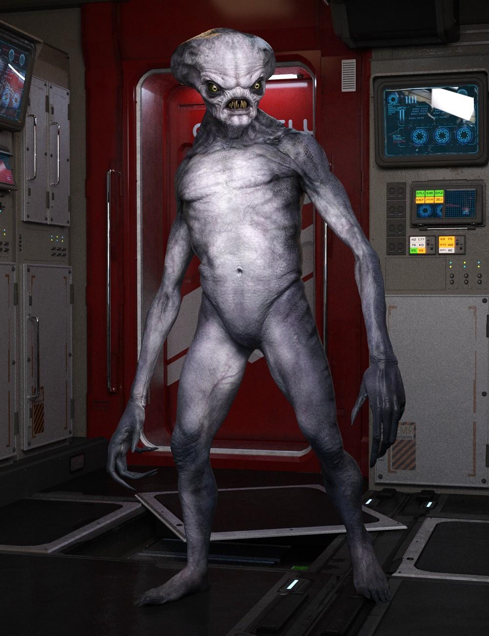 Crypto Alien HD for Genesis 8 Male