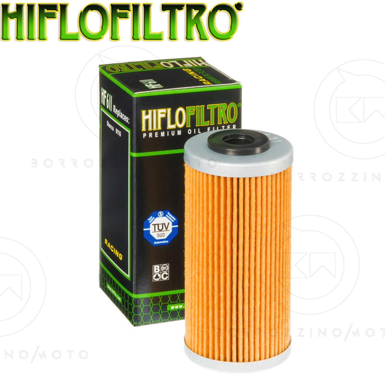Filtro Olio Hiflo 611 Husqvarna TC449//TE449 dal 2011 al 2014