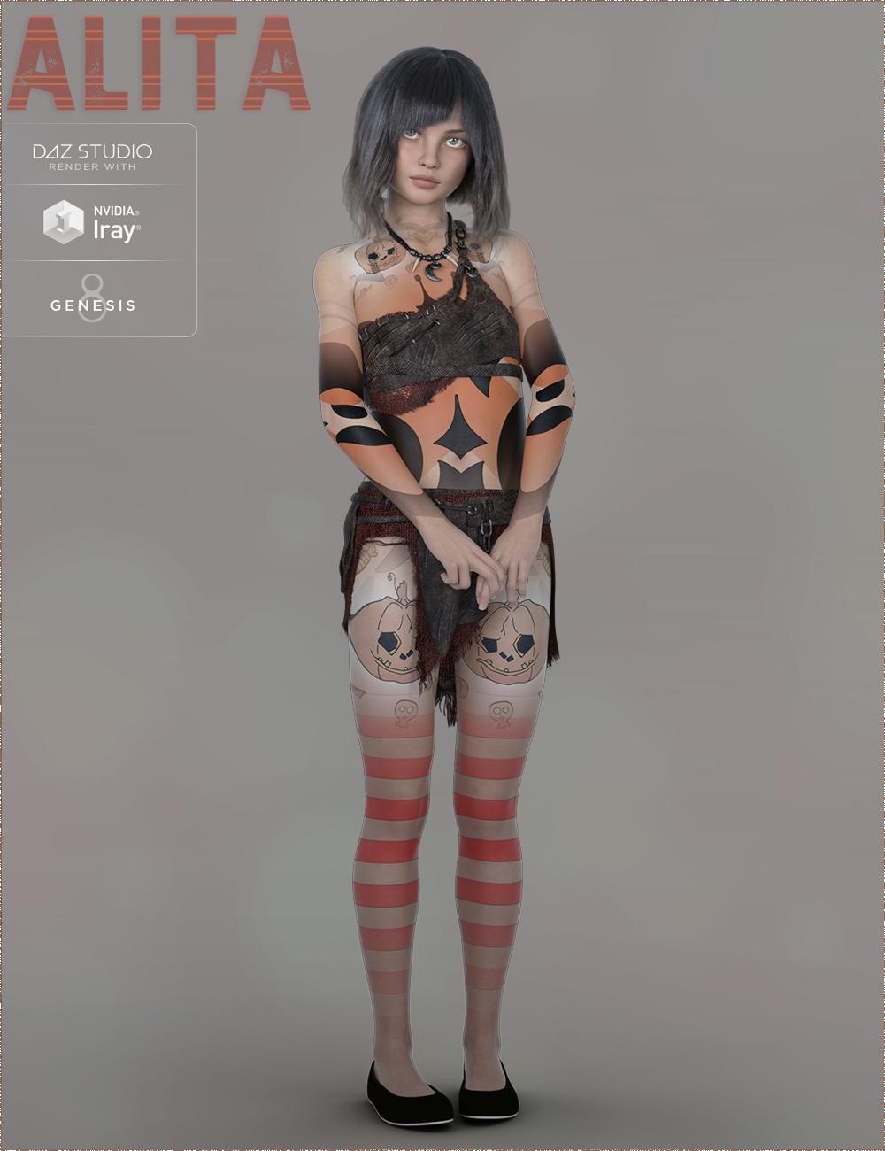 TDT-Alita for Genesis 8 Female