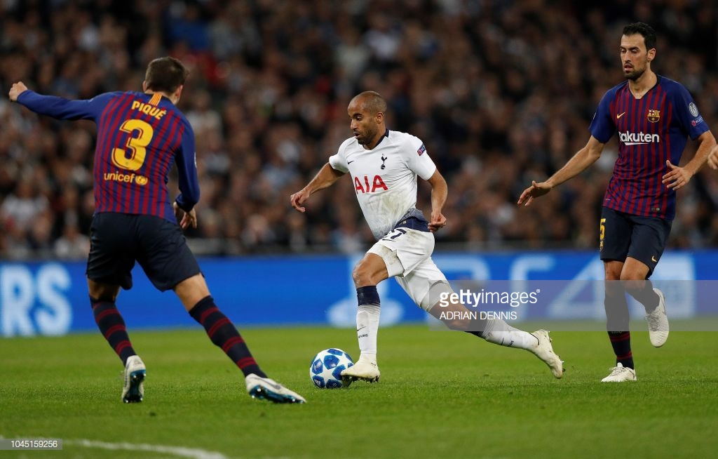 صور مباراة : توتنهام - برشلونة 2-4 ( 03-10-2018 )  T