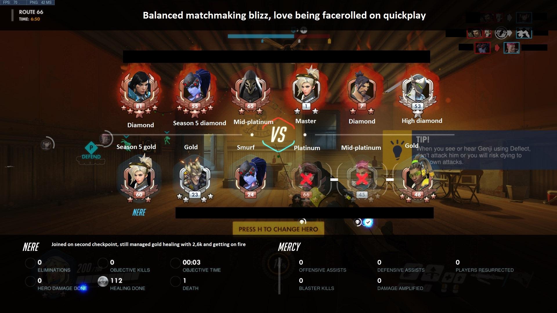 Overwatch unfair matchmaking