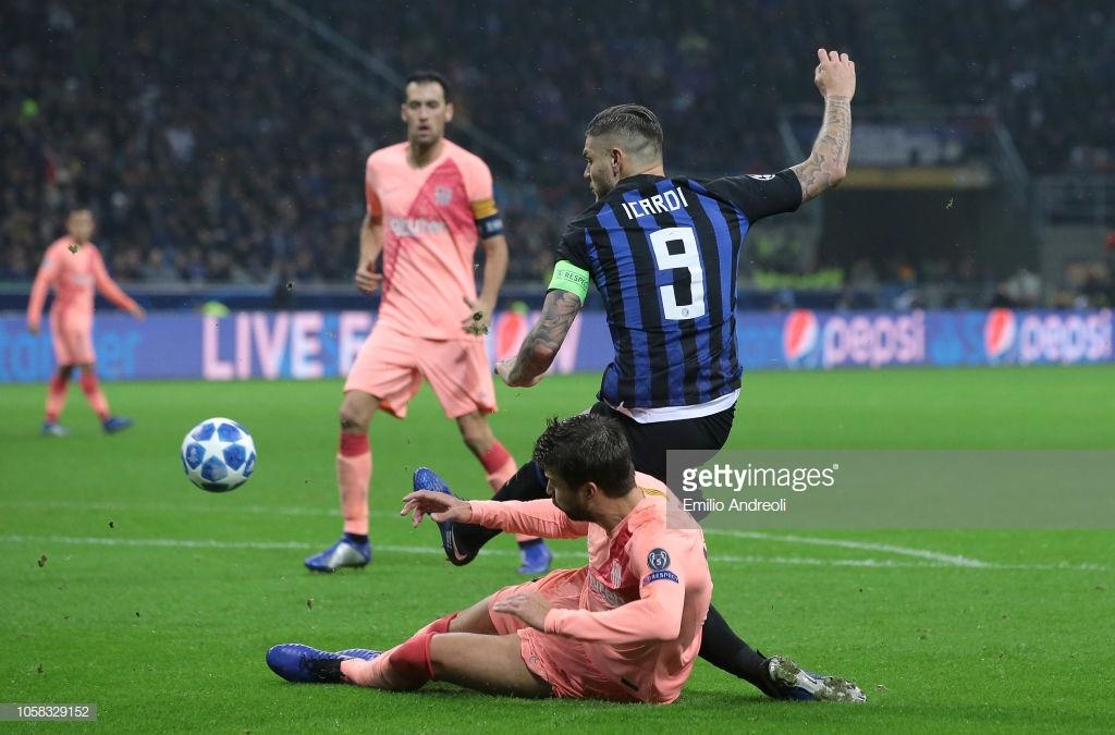صور مباراة : إنتر ميلان - برشلونة 1-1 ( 06-11-2018 )  Y5