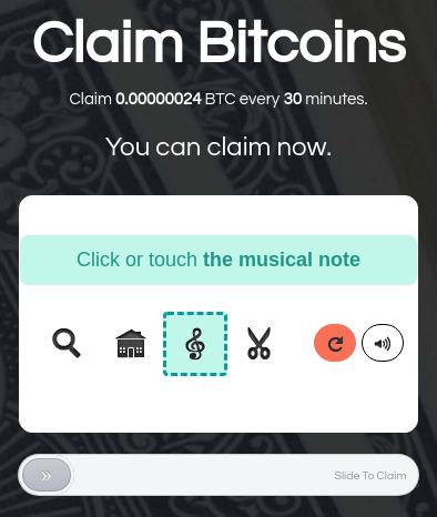 Claim Bitcoins