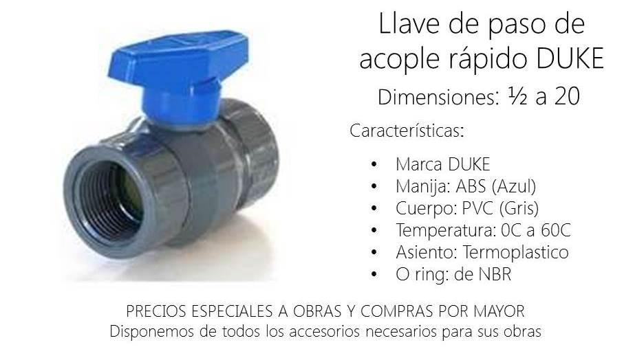 Llave de paso de agua precios perfect llave de paso de for Llave de paso de agua