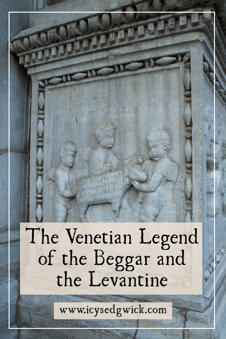 The Venetian Legend of the Beggar and the Levantine even has physical proof behind it. But what is the evidence and where can you find it?